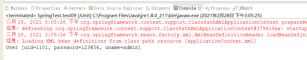 Assign values to bean properties with value annotation